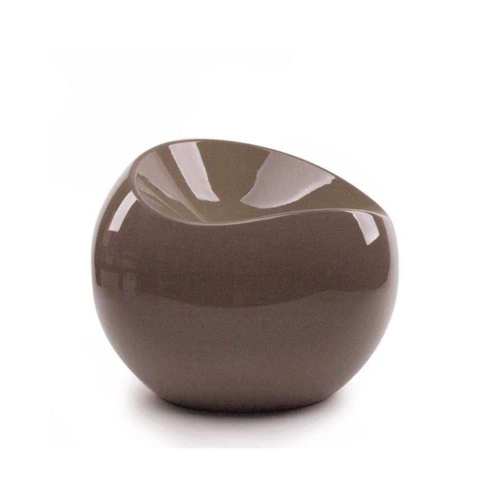 Ball chair taupe pouf XL Boom