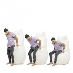 Pouf moelleux ergonomique