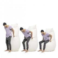 Grand pouf ergonomique