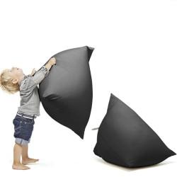 pouf noir pour enfant