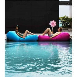 Chaise longue gonflable piscine