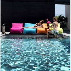 sitinpool pouf piscine