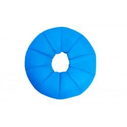 Pouf piscine donut turquoise