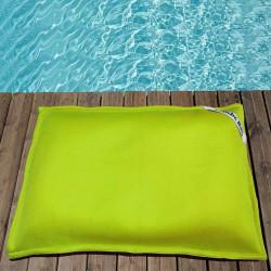 pouf piscine vert anis