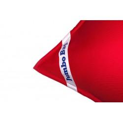 Petit pouf rouge flottant
