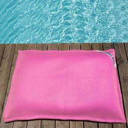 pouf piscine rose enfant