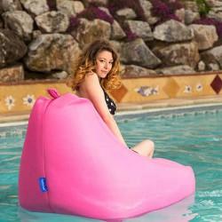 Fauteuil piscine rose