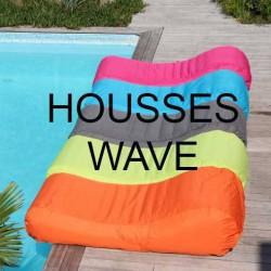 Housse pour pouf piscine WAVE
