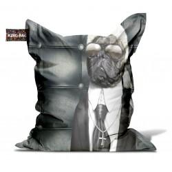 Pouf chien mode micro billes