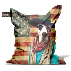 Pouf original usa cowboy