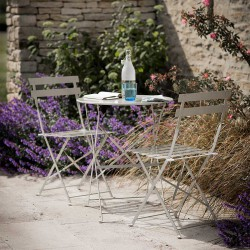 table et 2 chaises pour balcon