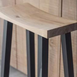 Tabouret de bar moderne en bois