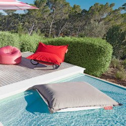 pouf piscine floatzac rouge