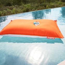 Pouf piscine orange floatzac