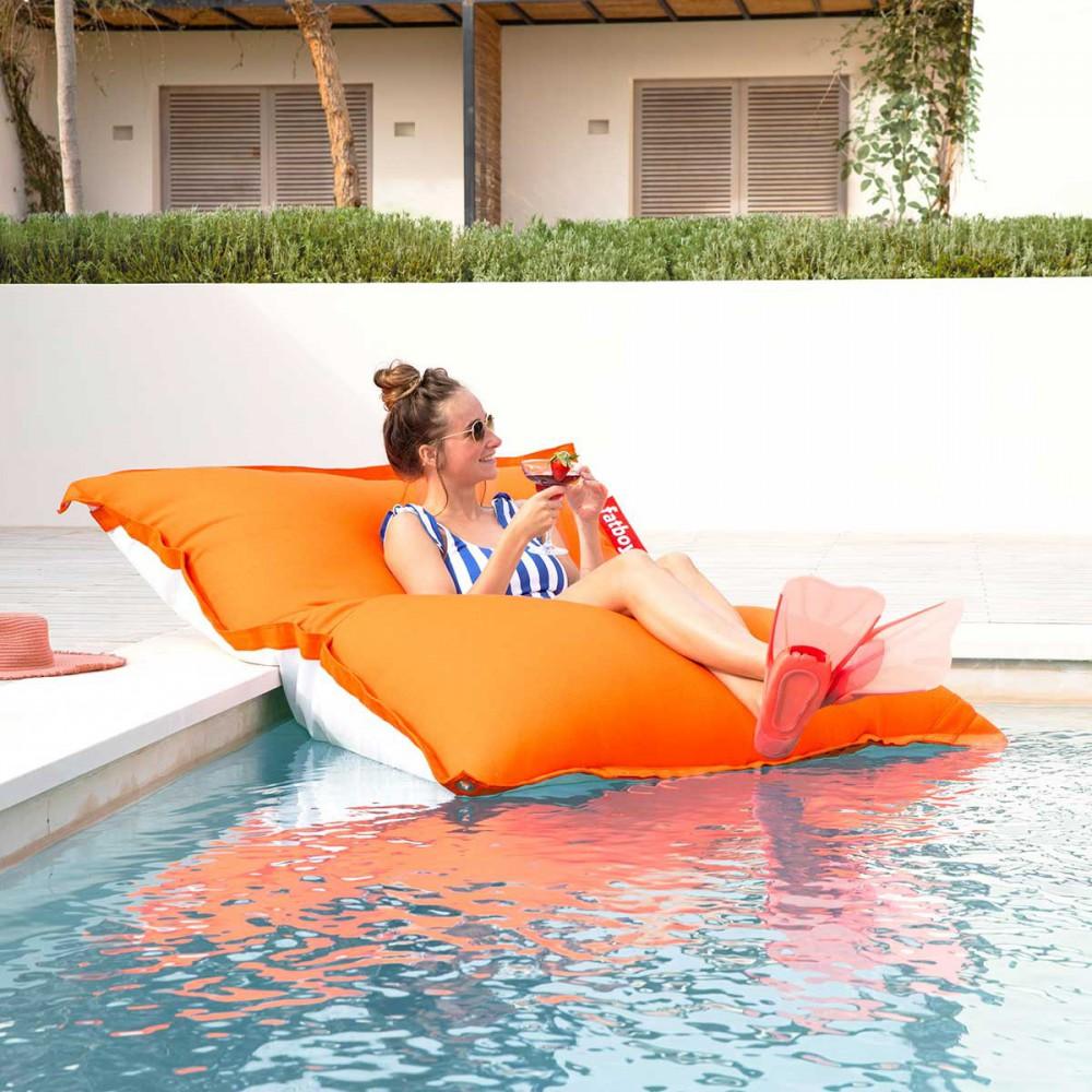 Pouf piscine Fatboy orange