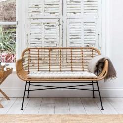 Canapé extérieur bambou