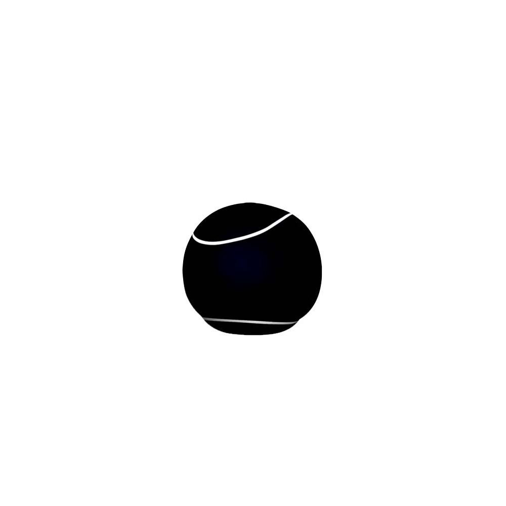 Pouf rond noir The Bool