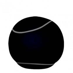 Pouf noir the bool