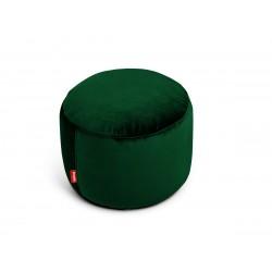 Pouf Point Velvet vert