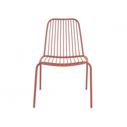 chaise d'extérieur argile