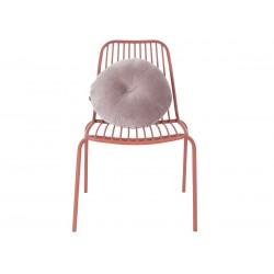 chaise extérieure marron argile