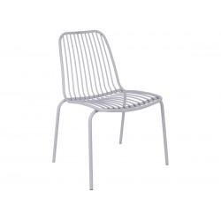 Chaise de jardin grise