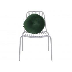 Chaise extérieur métal gris