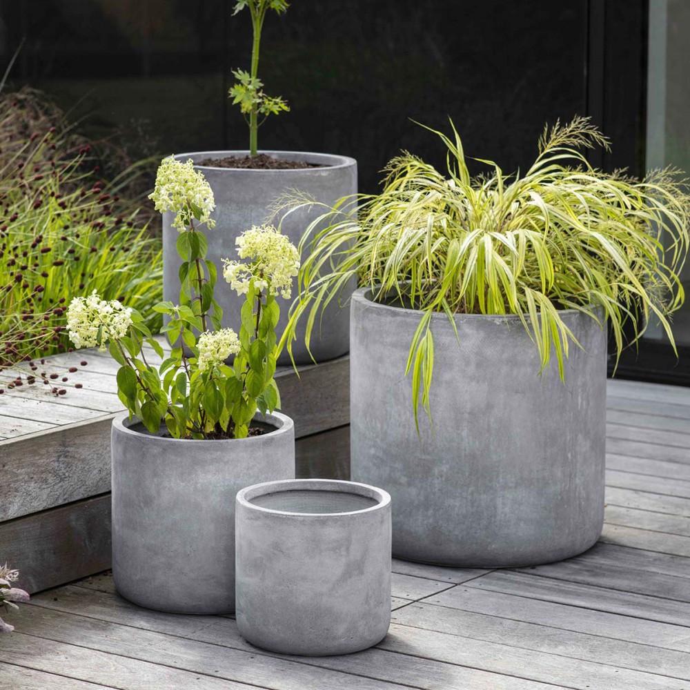 jardinière ronde ciment