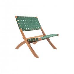 fauteuil pliable vert