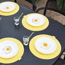 table jardin anthracite
