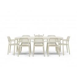 table jardin beige
