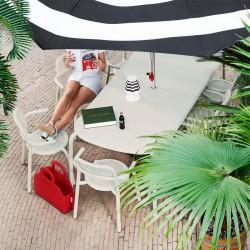 outdoor table beige