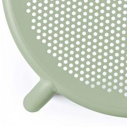 chaise extérieure verte