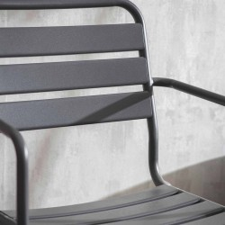 fauteuil gris outdoor