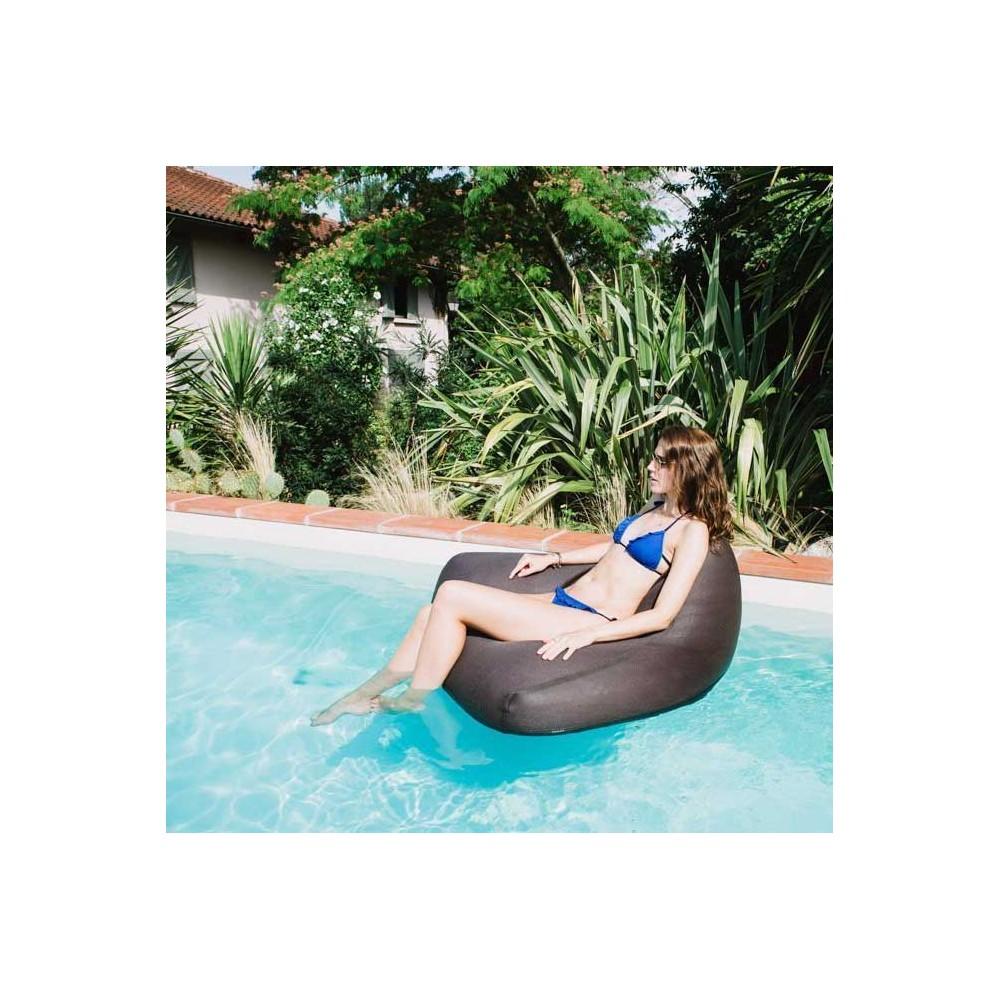 fauteuil flottant pouf piscine