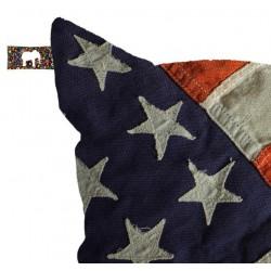 Pouf drapeau usa