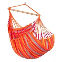 chaise hamac orange