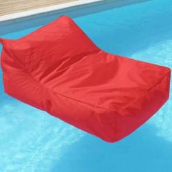 fauteuil flottant rouge
