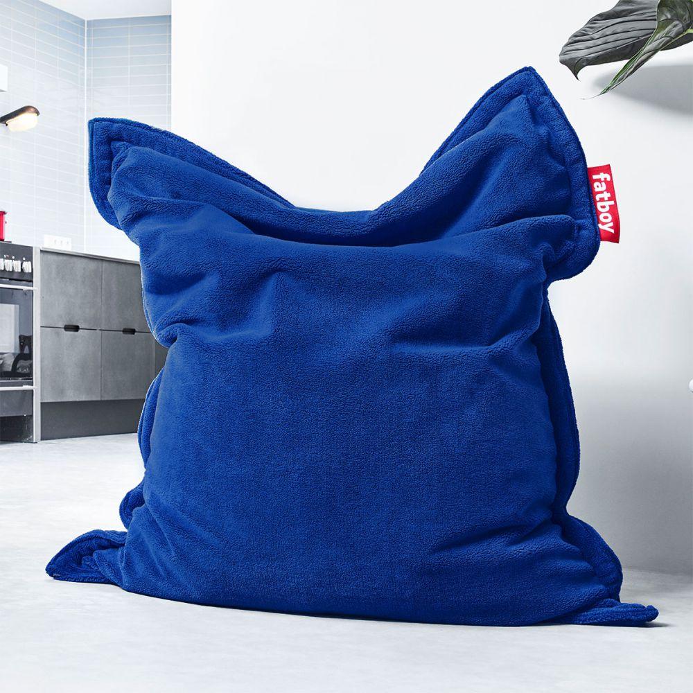 pouf teddy fatboy bleu