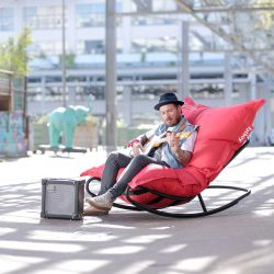 fauteuil pour pouf