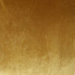 Canapé velours jaune ocre