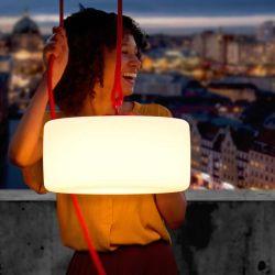Lampe extérieure Thierry le Swinger Rouge
