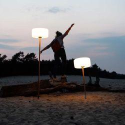 Lampe Thierry le Swinger Rouge