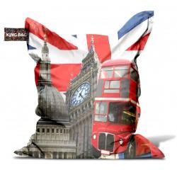 Pouf géant Londres
