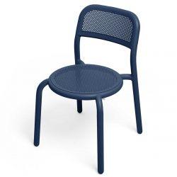 Chaise empilable de jardin en aluminium