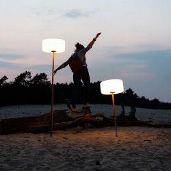 Lampe extérieur à suspendre Thierry Le Swinger gris clair Fatboy