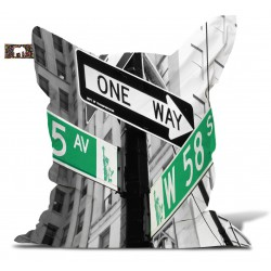 "Pouf New york ""One way"""