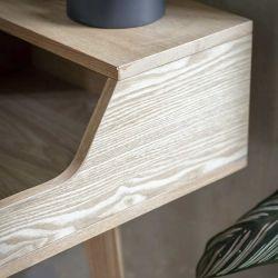 Bureau en bois de frêne