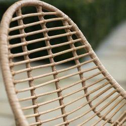 Chaise bambou et acier