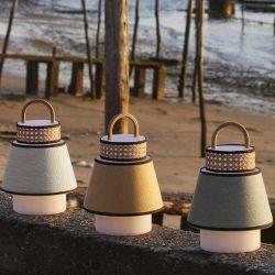 Lampe nomade verte